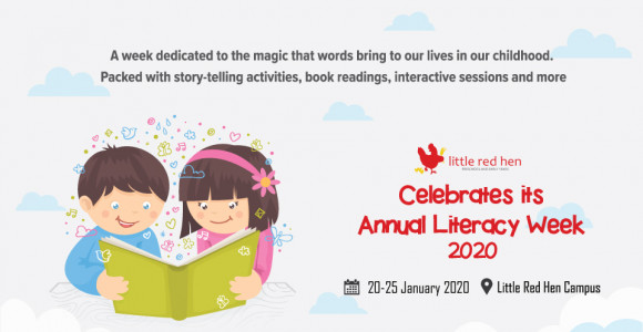 Celebrating Annual Literacy Week 2020 at Little Red Hen International Preschool