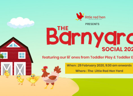 The Barnyard Social -Little Red Preschool Annual day Celebration