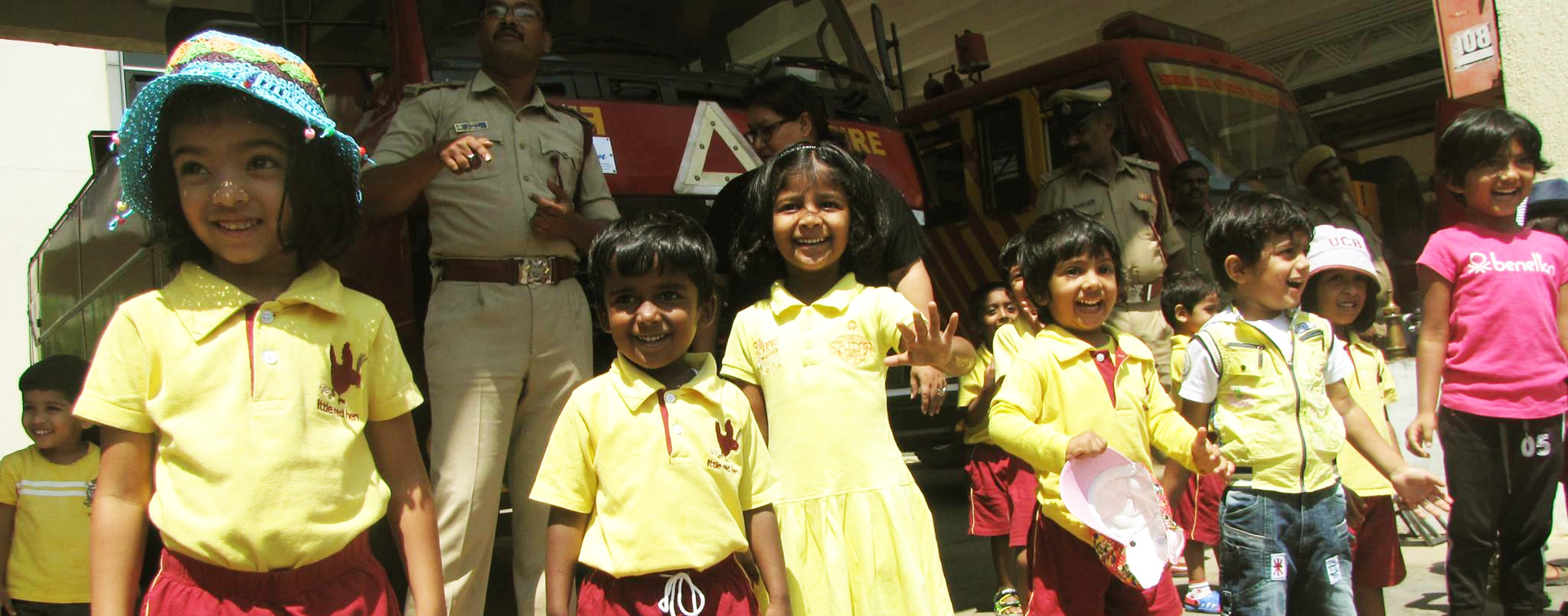 Little-red-Hen-Field-Trips-Fire-station-Bangalore
