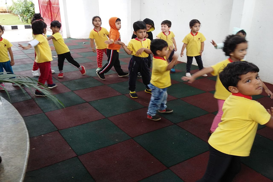 National Sports Day celebrations at Little Red Hen Preschool 1