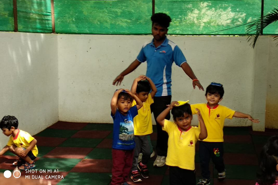National Sports Day celebrations at Little Red Hen Preschool 2