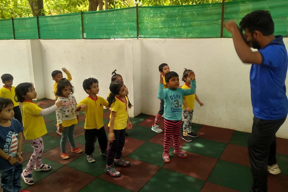 National Sports Day celebrations at Little Red Hen Preschool 3