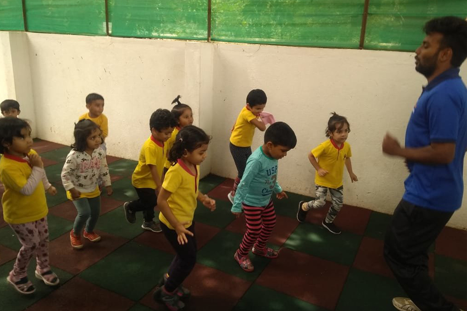 National Sports Day celebrations at Little Red Hen Preschool 4