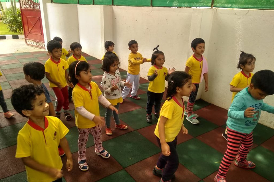 National Sports Day celebrations at Little Red Hen Preschool 5