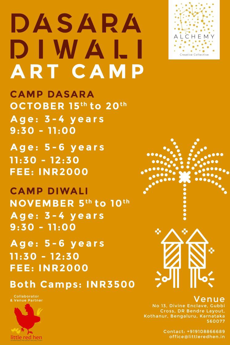 Dasara-Diwali-Art-Camp-Children-Kothanur-Bangalore