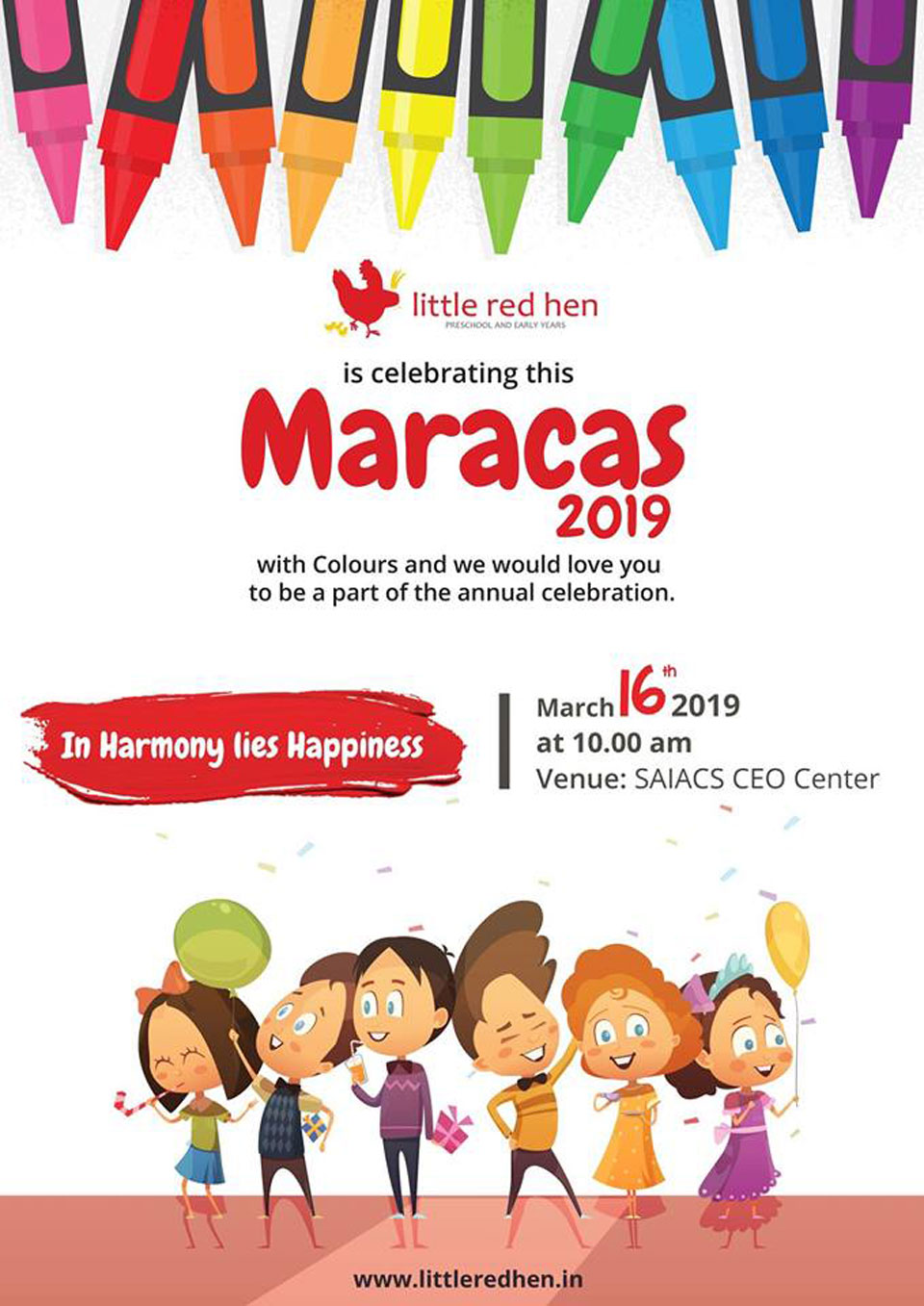 Little-red-Hen-Preschool-Kothnur-Annual-Day-Celebrations-Maracas-2019