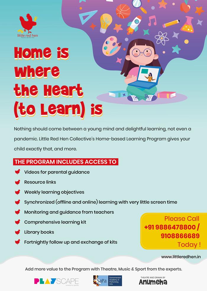 Home-based-Learning-Program-Preschool-Children-Bangalore-Kothanur