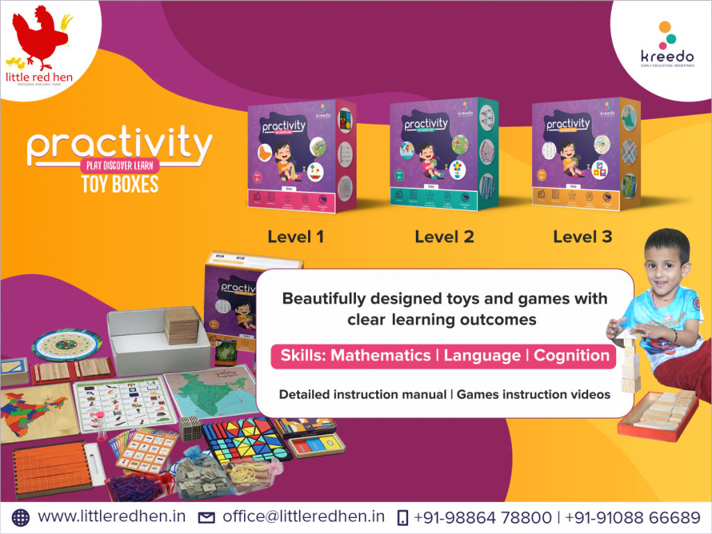 The best learning kit for the home based learning program at little red hen preschool and early years