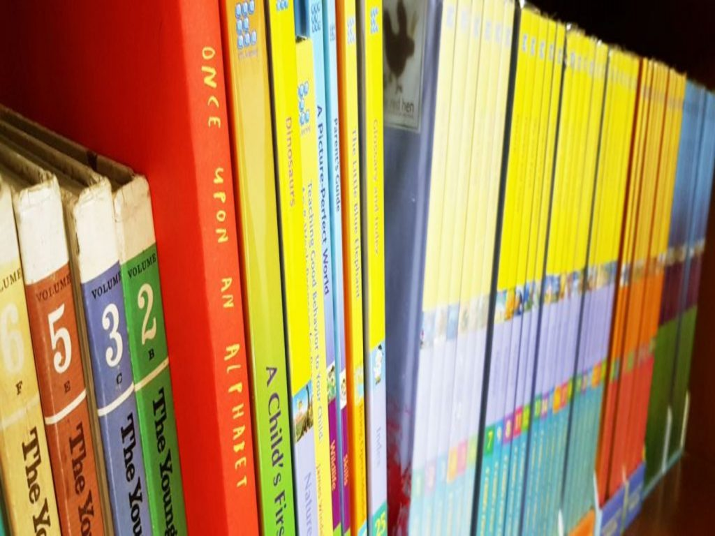 library books for the home based program at little red hen preschool and early years